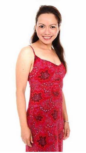Filipino Celebrity Marmee Cosico